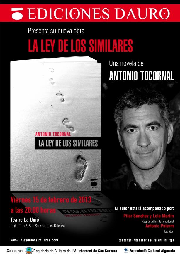 Poster para la presentación en el teatre La Unió el día 15 de febrero